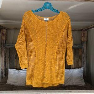 Gorgeous Golden Yellow Sweater